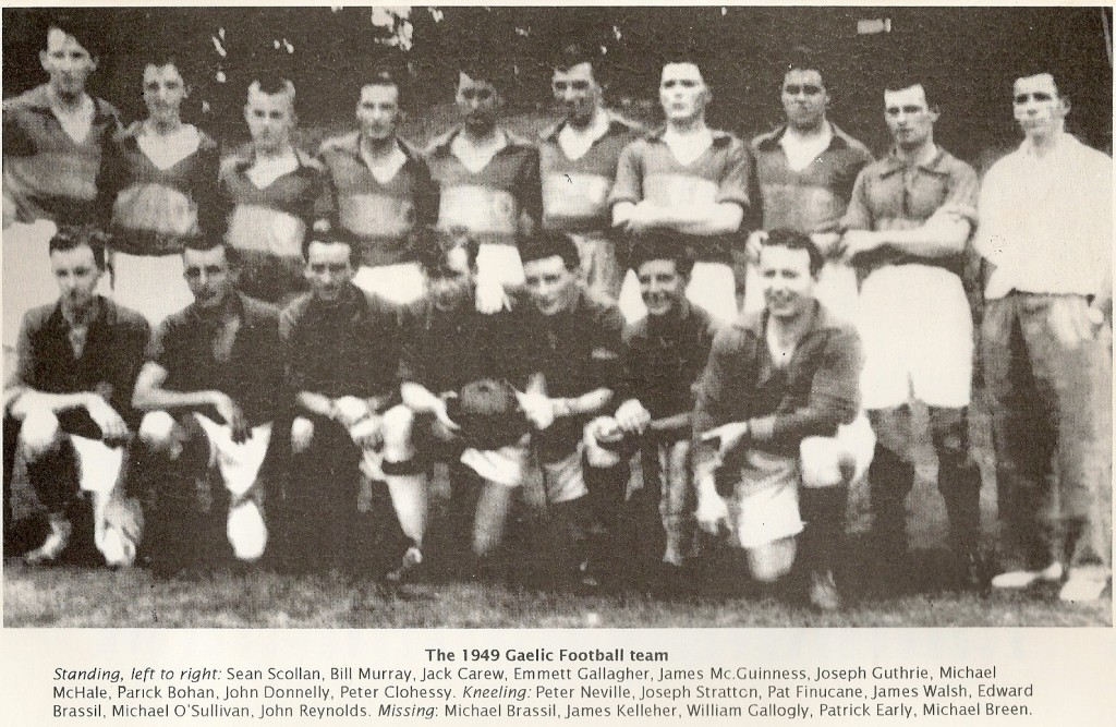 Gaelic Football Team 1949